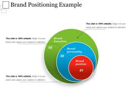 Brand Positioning Example Powerpoint Presentation
