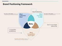 Brand Positioning Framework Ppt Styles