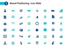 Brand Positioning Icon Slide Goal Ppt Powerpoint Presentation Diagram Lists