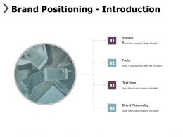 Brand Positioning Introduction Symbols Ppt Powerpoint Presentation Diagram Lists