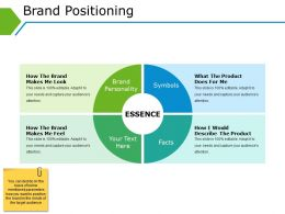 Brand Positioning Powerpoint Slide Influencers