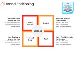 Brand Positioning Powerpoint Slide Presentation Guidelines