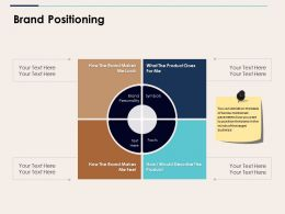 Brand Positioning Ppt Background Images
