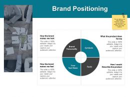 Brand Positioning Process Planning Ppt Powerpoint Presentation Templates