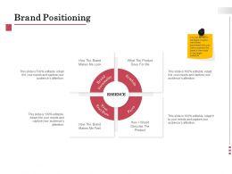 Brand Positioning Symbols Ppt Powerpoint Presentation Professional