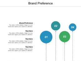 Brand Preference Ppt Powerpoint Presentation Ideas Inspiration Cpb