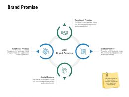 Brand Promise Functional Promise Ppt Powerpoint Presentation Inspiration Designs