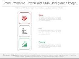 Brand Promotion Powerpoint Slide Background Image