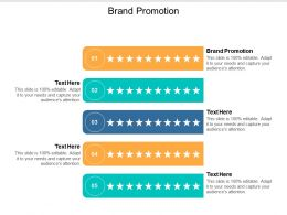 Brand Promotion Ppt Powerpoint Presentation File Example Cpb