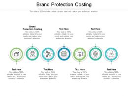 Brand Protection Costing Ppt Powerpoint Presentation Slides Background Images Cpb