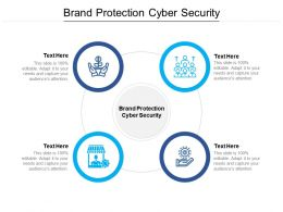 Brand Protection Cyber Security Ppt Powerpoint Presentation Layout Cpb