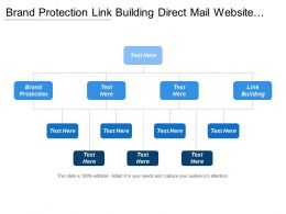 Brand Protection Link Building Direct Mail Website Social