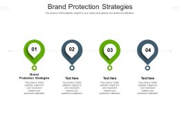 Brand Protection Strategies Ppt Powerpoint Presentation Portfolio Background Designs Cpb