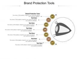 Brand Protection Tools Ppt Powerpoint Presentation Portfolio Deck Cpb