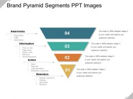 Brand Pyramid Segments Ppt Images