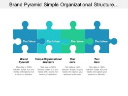 Brand Pyramid Simple Organizational Structure Project Development Management Cpb