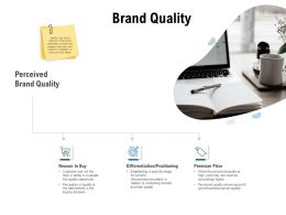 Brand Quality Differentiation Positioning Ppt Powerpoint Presentation Gallery Deck