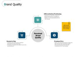 Brand Quality Positioning Ppt Powerpoint Presentation File Show
