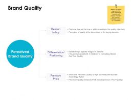 Brand Quality Positioning Ppt Powerpoint Presentation Show Tips