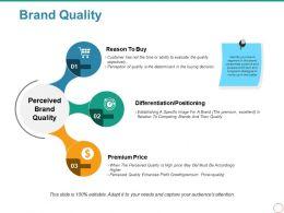 Brand Quality Powerpoint Show