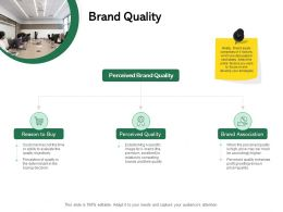 Brand Quality Ppt Powerpoint Presentation Summary Guide