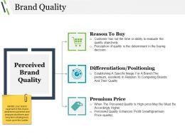 Brand Quality Presentation Graphics