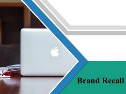Brand Recall Powerpoint Presentation Slides