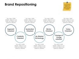 Brand Repositioning Oriented Ppt Powerpoint Presentation Visual Aids