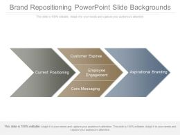 Brand Repositioning Powerpoint Slide Backgrounds