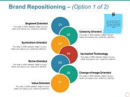 Brand Repositioning Powerpoint Slide Design Ideas