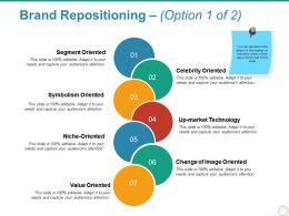 Brand Repositioning Powerpoint Slide Design Ideas