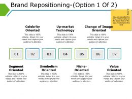 Brand Repositioning Powerpoint Slide Show