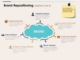 Brand Repositioning Ppt Infographics