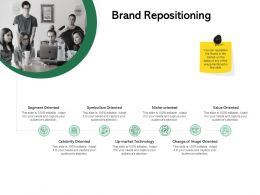 Brand Repositioning Ppt Powerpoint Presentation Outline Guidelines