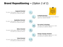 Brand Repositioning Segment Ppt Powerpoint Presentation Samples