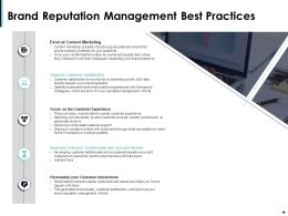 Brand Reputation Management Best Practices Ppt Powerpoint Presentation Tips