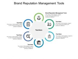 Brand Reputation Management Tools Ppt Powerpoint Presentation Layouts Designs Cpb