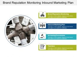 Brand Reputation Monitoring Inbound Marketing Plan Increasing Conversions Cpb