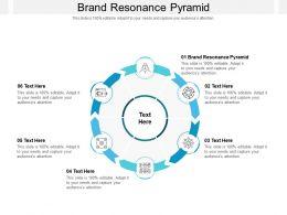 Brand Resonance Pyramid Ppt Powerpoint Presentation File Good Cpb