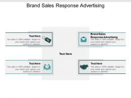 Brand Sales Response Advertising Ppt Powerpoint Presentation Slides Elements Cpb