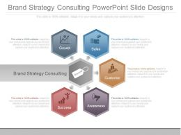 Brand Strategy Consulting Powerpoint Slide Designs