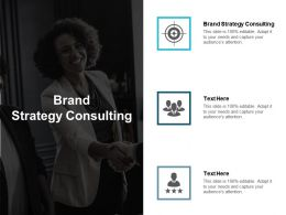 Brand Strategy Consulting Ppt Powerpoint Presentation Slides Themes Cpb