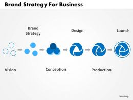 Brand Strategy For Business Flat Powerpoint Design