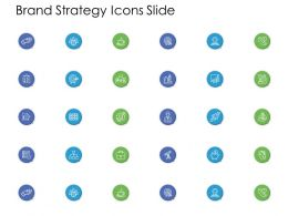Brand Strategy Icons Slide Target L855 Ppt Powerpoint Ideas Elements