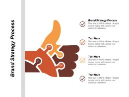 Brand Strategy Process Ppt Powerpoint Presentation Infographic Template Ideas Cpb