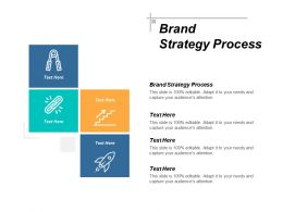 Brand Strategy Process Ppt Powerpoint Presentation Pictures Background Designs Cpb