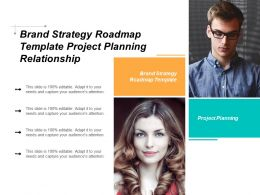 Brand Strategy Roadmap Template Project Planning Relationship Management Plan Cpb