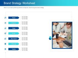 Brand Strategy Worksheet Big Ppt Powerpoint Presentation Gallery Graphic Tips