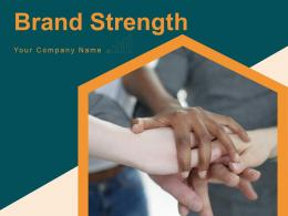Brand Strength Measure Awareness Financial Analysis Assessment Strength Loyalty Engagement