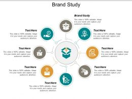 Brand Study Ppt Powerpoint Presentation Icon Good Cpb